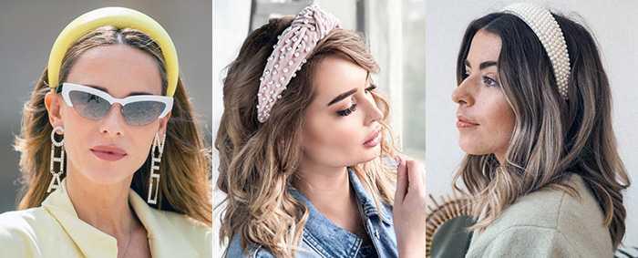 10 вариантов модных повязок на голову