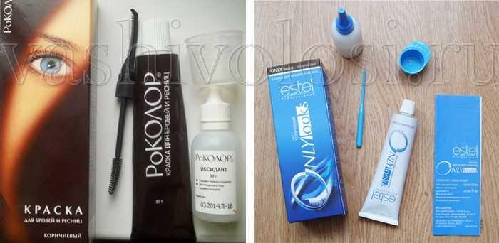 Как правильно красить брови краской в домашних