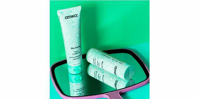 Кондиционер для поврежденных волос Amika The Kure Bond Repair Conditioner