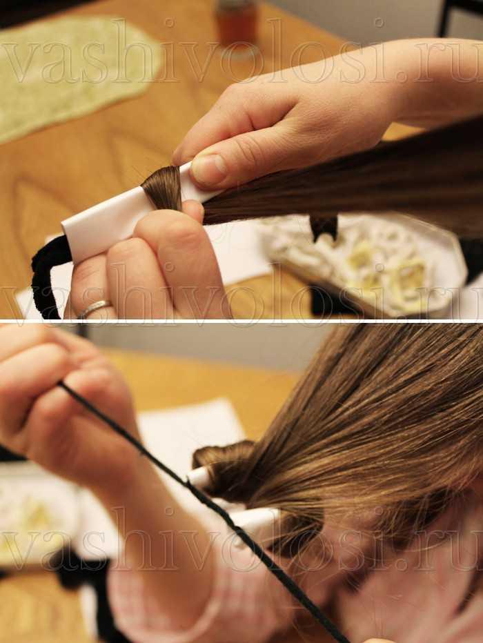 Как сделать из бумаги локон