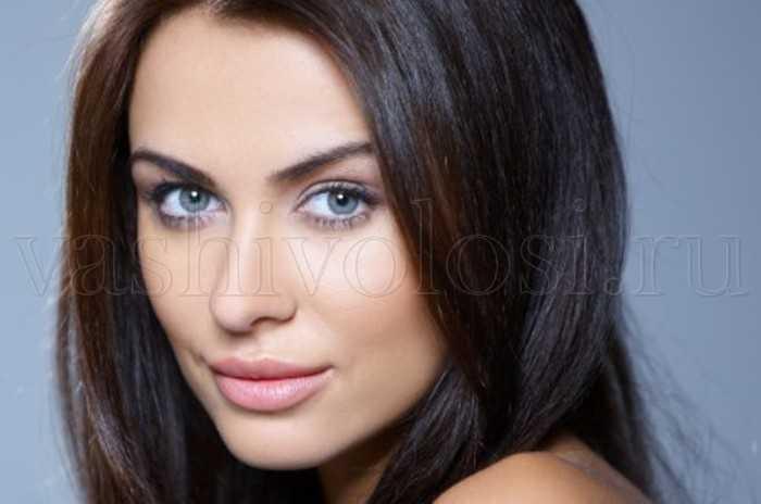 Цвет волос под светлую кожу и голубые глаза