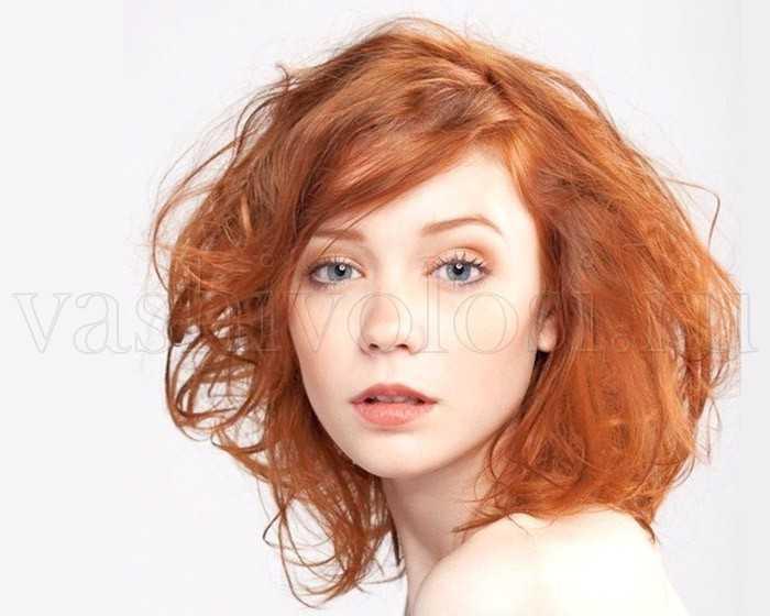 Цвет волос для светлой кожи