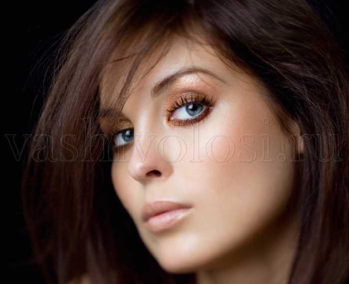 Цвет волос для бледной кожи и серых глаз