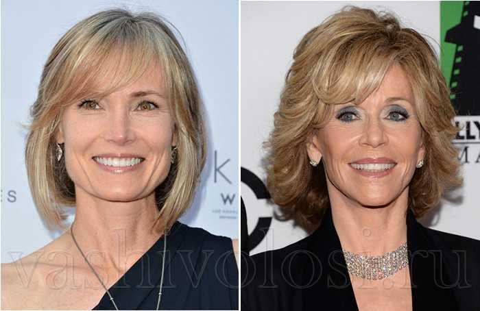 Цвет волос для женщин после 50 лет фото