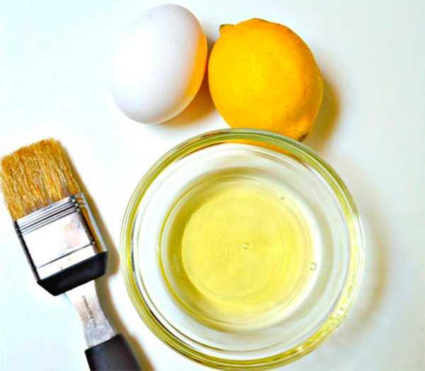 Домашняя маска для волос с лимоном