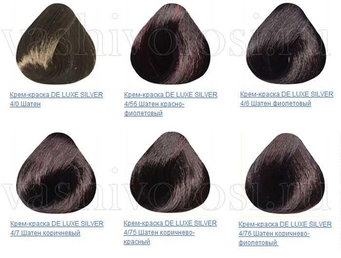 Эстель делюкс палитра красок для волос