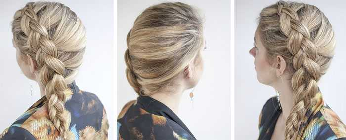 Голландская коса схема