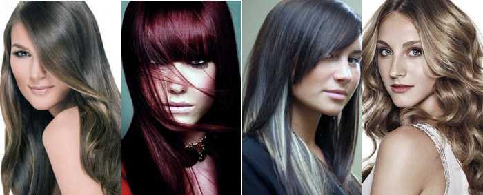 Холодные оттенки краски для волос фото
