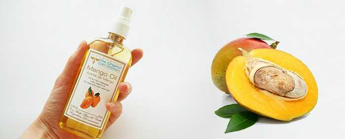 Использование масла манго для волос