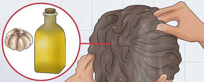 Как сделать чесночный шампунь от выпадения волос