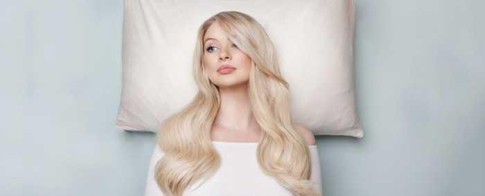 Как сохранить волосы ночью?