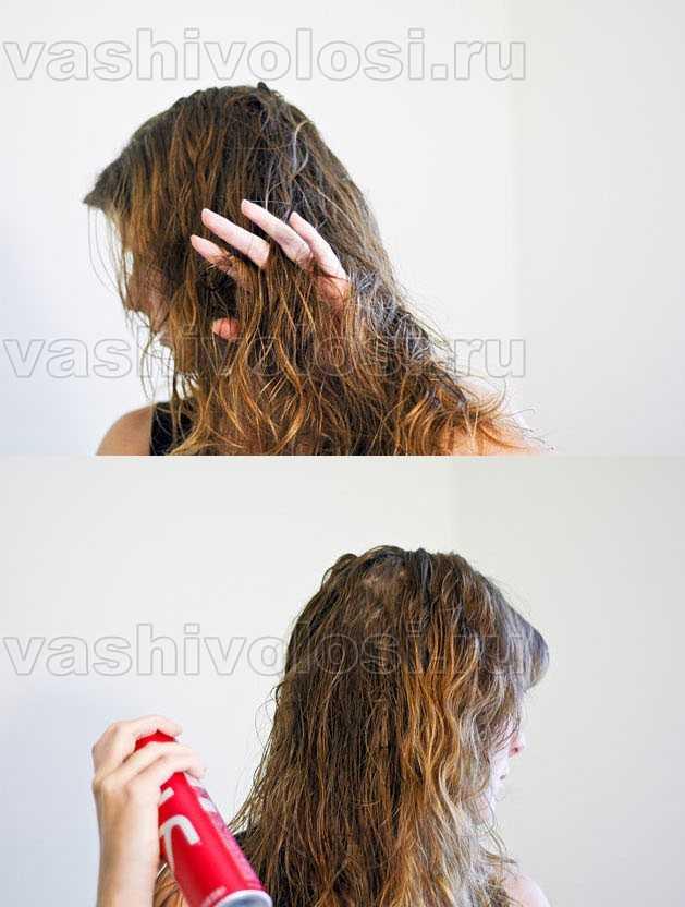 Как накрутить волосы на носки