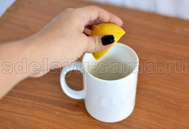 Как осветлить волосы лимоном