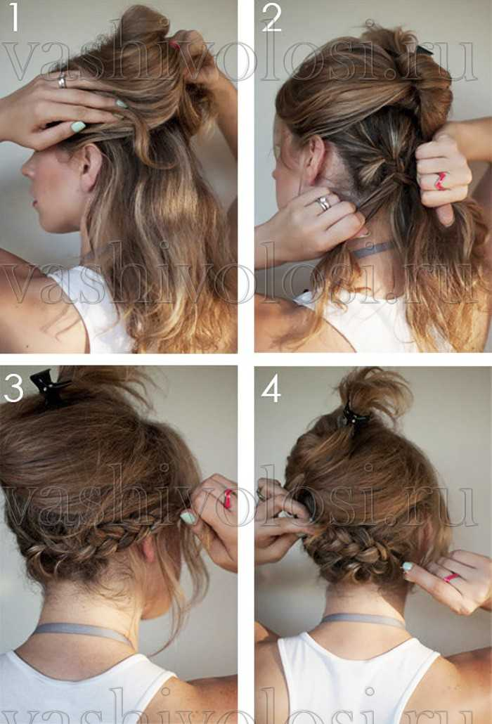 Как из длинный волос сделать каре