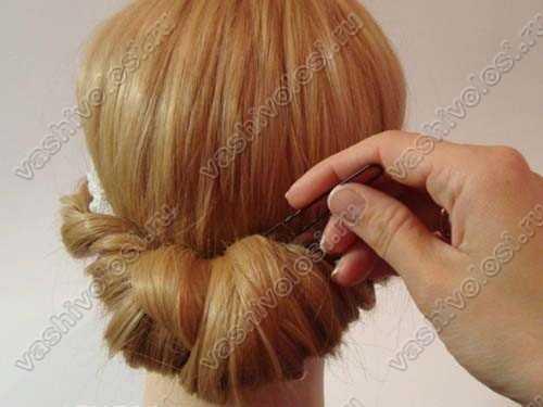 Как сделать прическу с повязкой