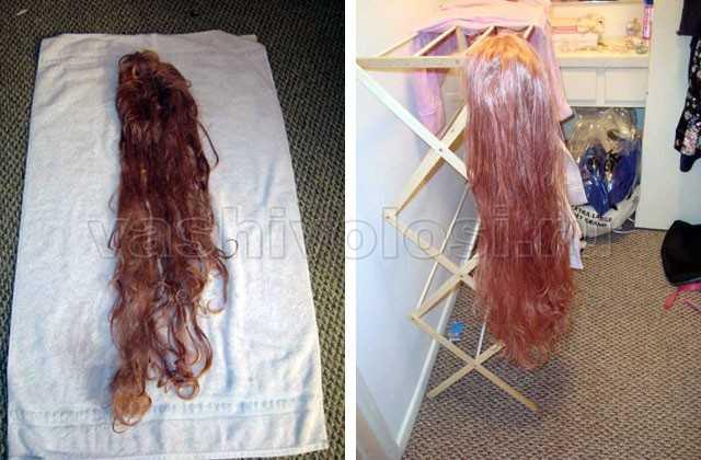 Как помыть парик в домашних условиях
