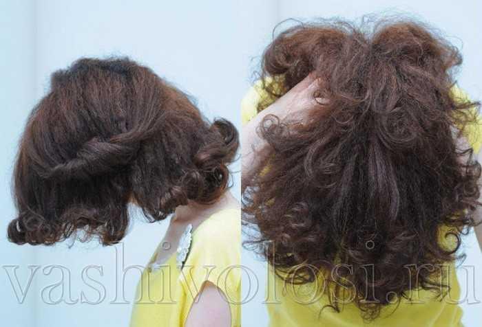 Как уложить кудрявые волосы