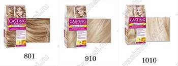 Кастинг Лореаль палитра  Краски Ваши волосы