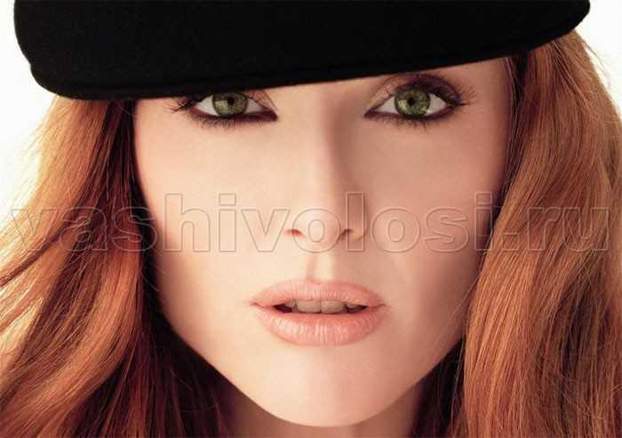 Рыжие волосы голубые глаза