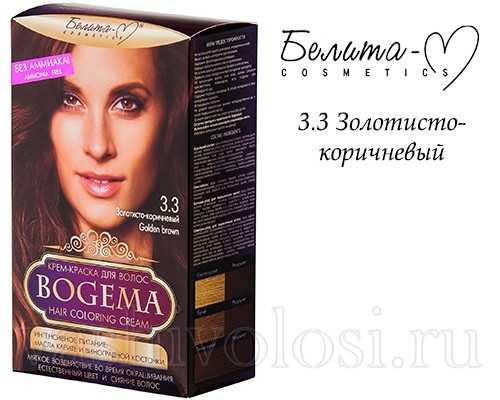 Крем-краска Богема 3.3 Золотисто-коричневы