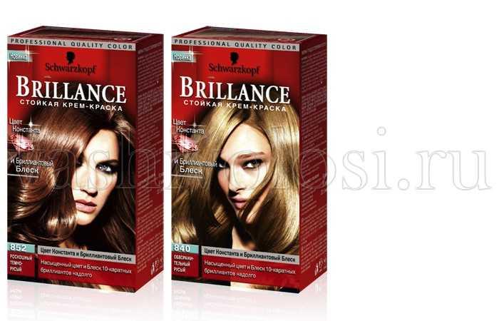 Краска для волос брилианс палитра цветов фото 883