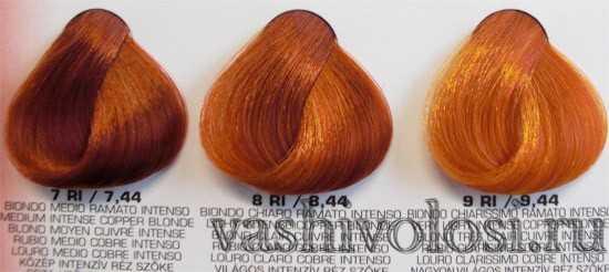 ФармаВита краска для волос палитра