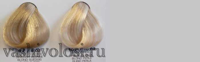 Краска жемчужный блонд