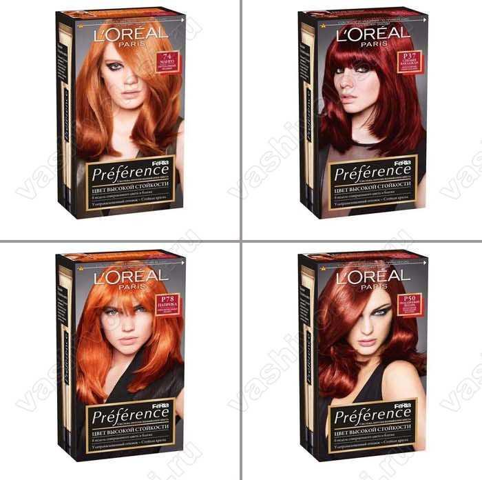 Лореаль перфект краска для волос палитра