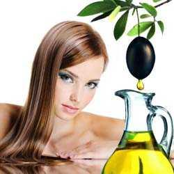 Маска для волос оливковая