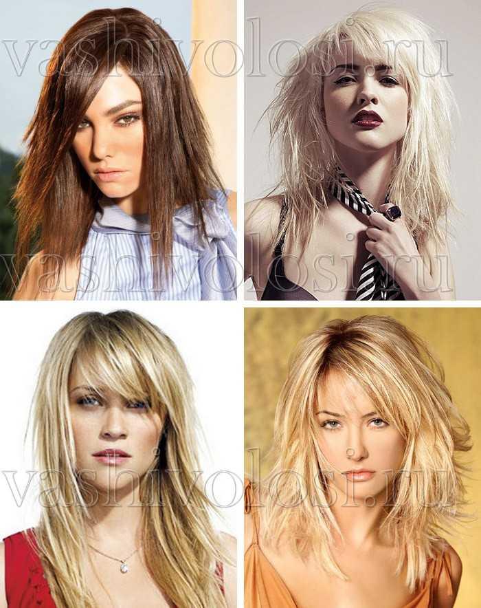 Модные стрижки средней длины волос