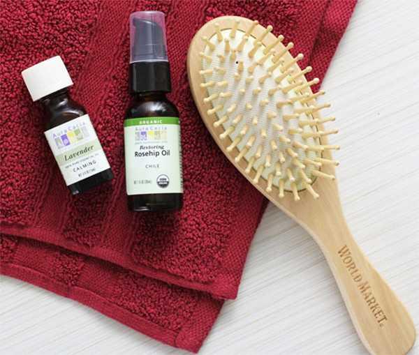 Можно ли наносить лавандовое масло на кожу головы