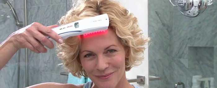 Низкоуровневая лазерная терапия от выпадения волос