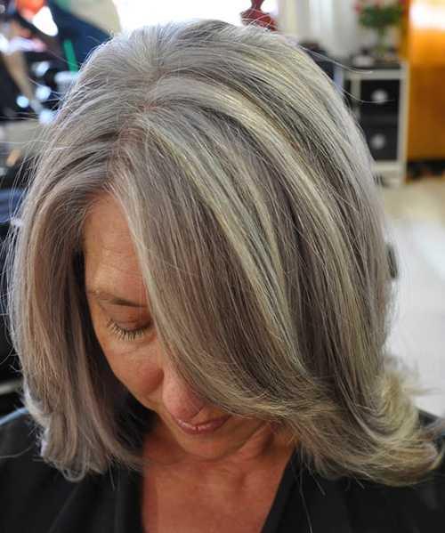 Окрашивание для седых волос - делать или нет