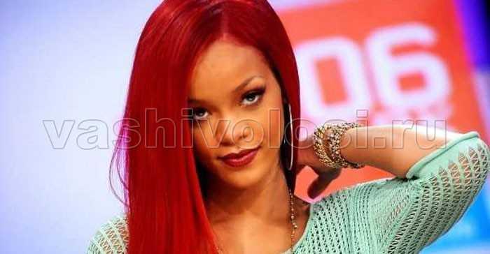 Оттенки рыжего цвета волос