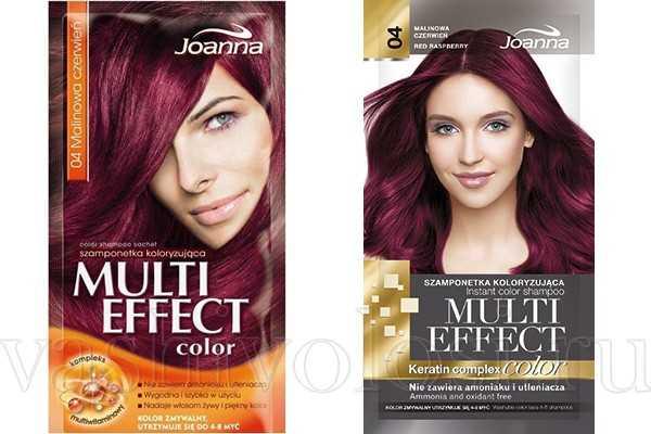 """оттеночный шампунь Joanna """"Multi Effect Color"""""""