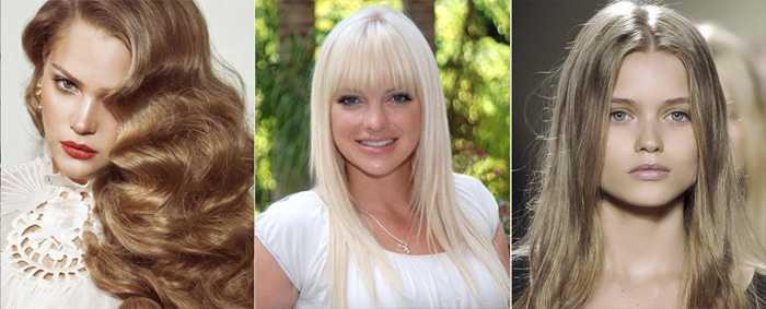 Палитра блонд