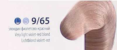 Эстель палитра цветов на волосах 9.65