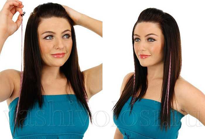 Перья гризли для волос с сайта Алиэкспресс