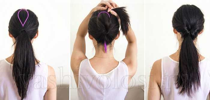 Петельки для волос инструкция
