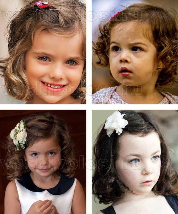 прически на короткие волосы для девочек фото