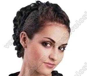 Прически из кос - фото