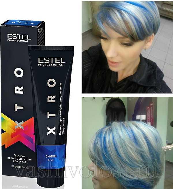 Estel - синий пигмент
