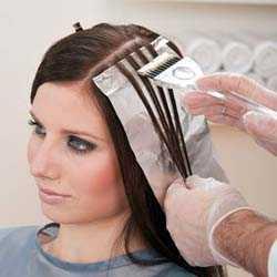 Перышки на волосах в домашних условиях 728