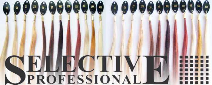 Селектив краска для волос, палитра