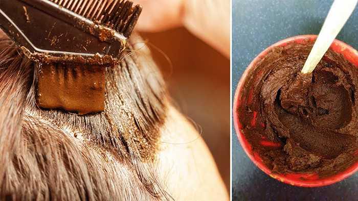 Шоколадная маска для волос