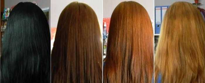 Как сделать дома смывку для волос
