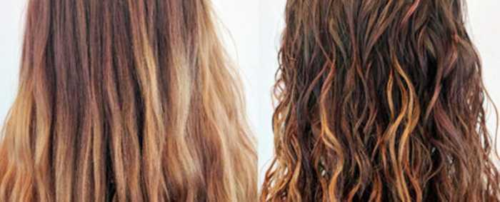 Современная химическая завивка волос