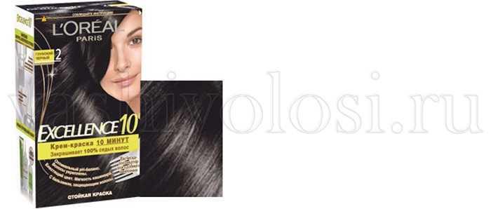 Темная краска для волос