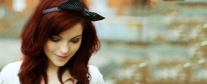 Темно рыжий цвет волос