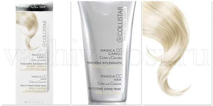 маска для волос collistar инструкция